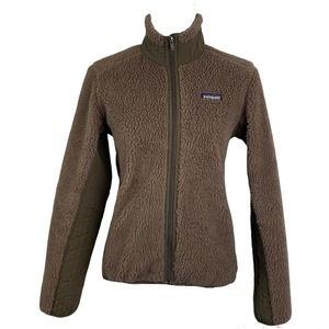 Patagonia Synchilla Brown Zip Up Jacket S